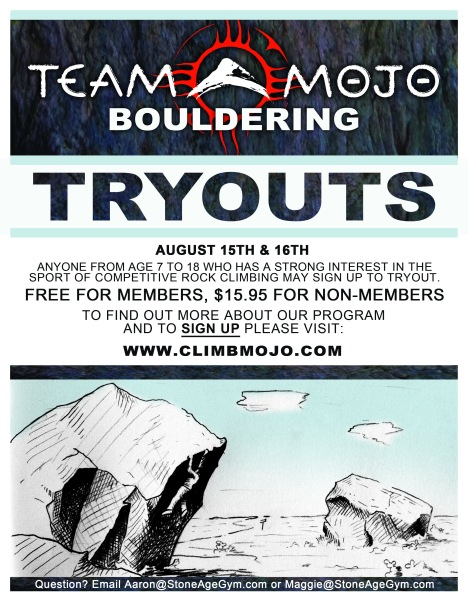 Tryout poster 2015